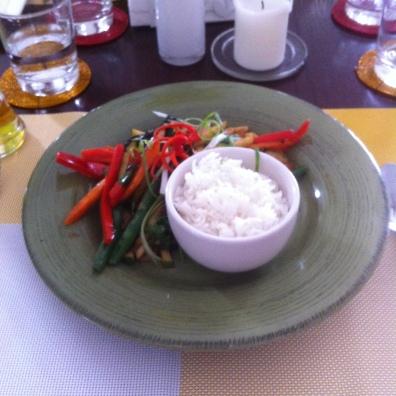 Pure Green Vegan Restaurant, November 2014