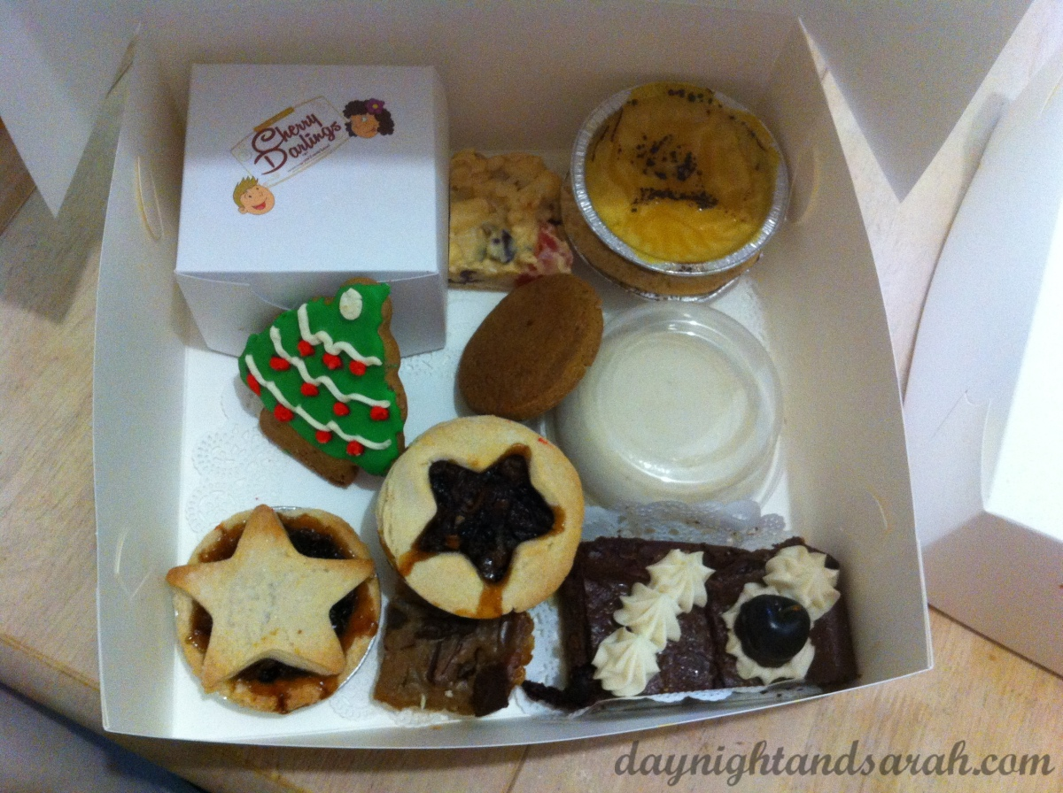 Cherry Darlings Dessert Box