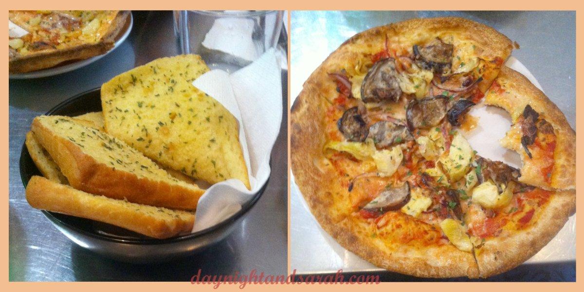 Garlic Bread and Pizza