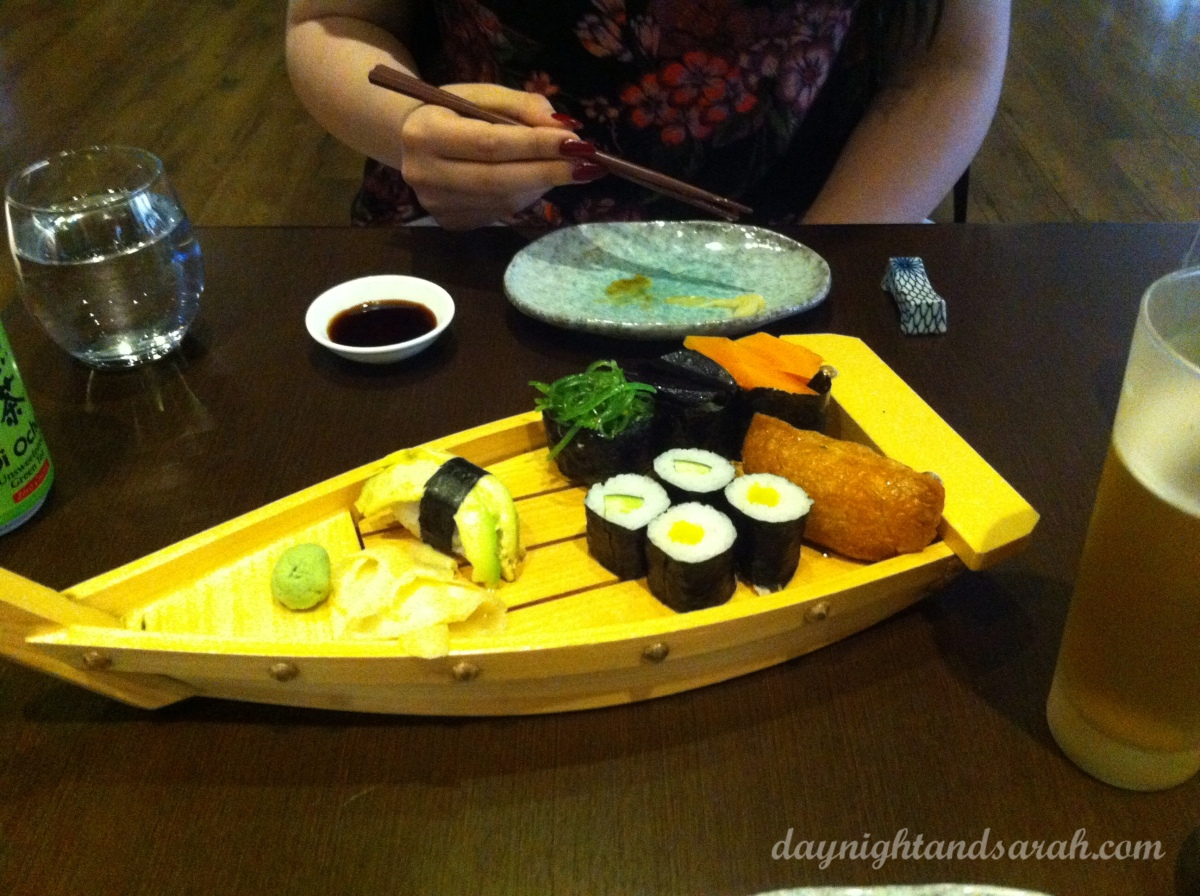 Check out the Ginza Miyako Facebook page or website to see some examples of this plate without bits missing... (links below review)